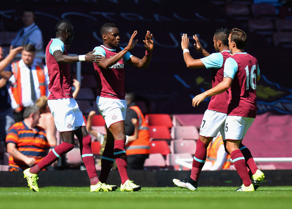 Diafra Sakho scored the only goal for the Hammers during their lost against Bremen